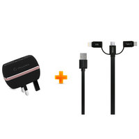 Cellairis Charge Dual USB+ 3IN1 Cable