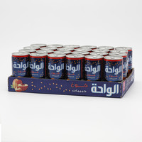 Al Waha Peach Float Can 24 x 180 ml