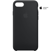 Apple Case iPhone 7 Silicon Black