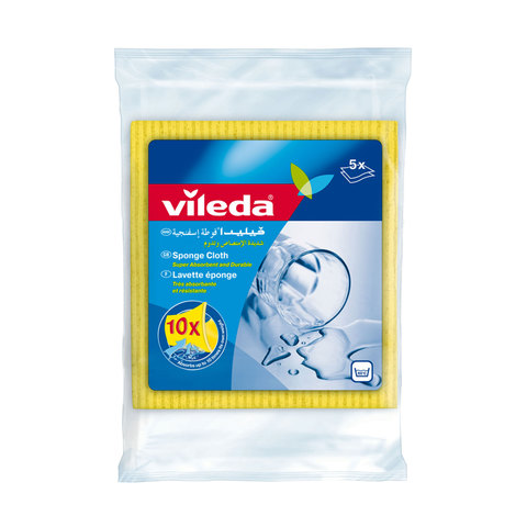 Vileda-Sponge-Cloth-/-Cleaning-Cloth-5Pcs