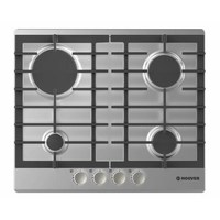 HOOVER Built-In Gas Hob HGH64SCEX 59 Cm Stainless Steel