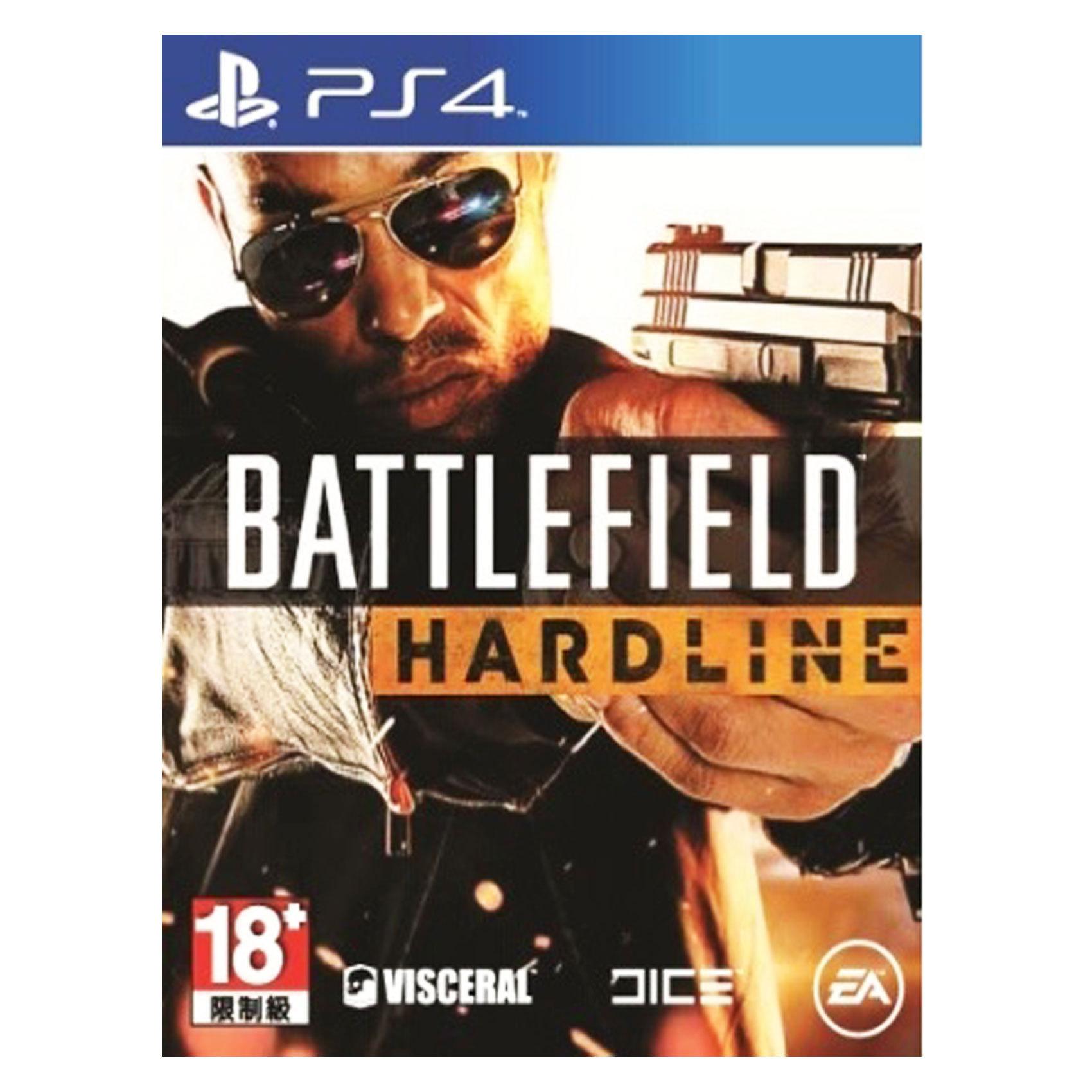 SONY PS4 BATTLEFIELD HARDLINE
