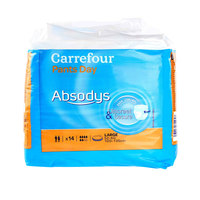 Carrefour Absodys Adult Large Diapers x14's