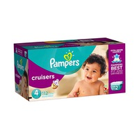 Pampers Diapers Mega Box Size 4  112S Save Up To 40 Diapers