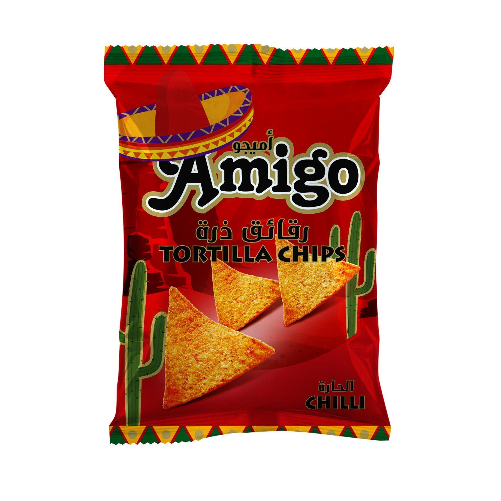 AMIGO TORTILLA CHILI 100GR