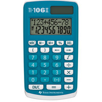 Texas Calculator Pocket Ti-106 2 Line Display