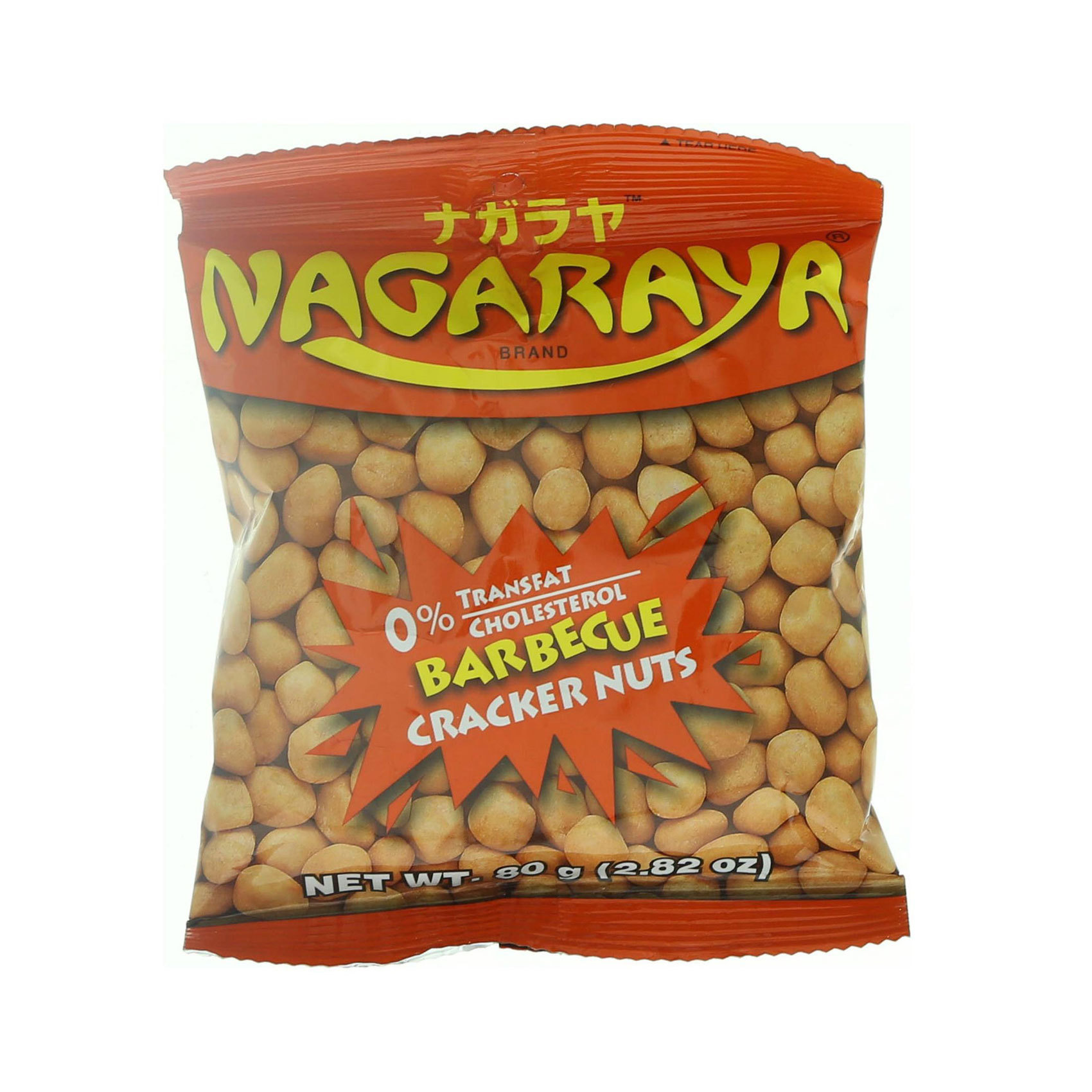 NAGARAYA CRACKER NUTS BBQ 80G