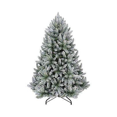 Carrefour-Premium-Flock-Green-White-Tree-N31-180CM