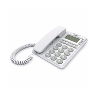 Uniden Corded Phone AT6408 White