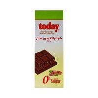 تودي شوكولاتة بالحليب مع الفستق خالي من االسكر 65 غرام