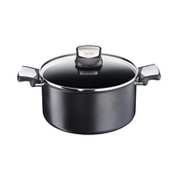 Tefal Expertise Black Stewpot With Lid 20CM