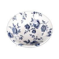 كلايتان وعاء برسمة زهور قياس 15.7 سنتيمتر لون أزرق