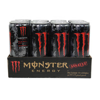 Monster Energy Drink Assault 355ml x12