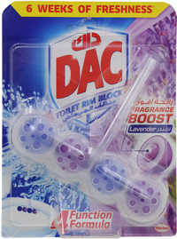 Dac Toilet Rim Block Fragrance Boost Lavender 50g