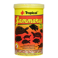 Tropical Gammarus Turtle And Fish Food 120g