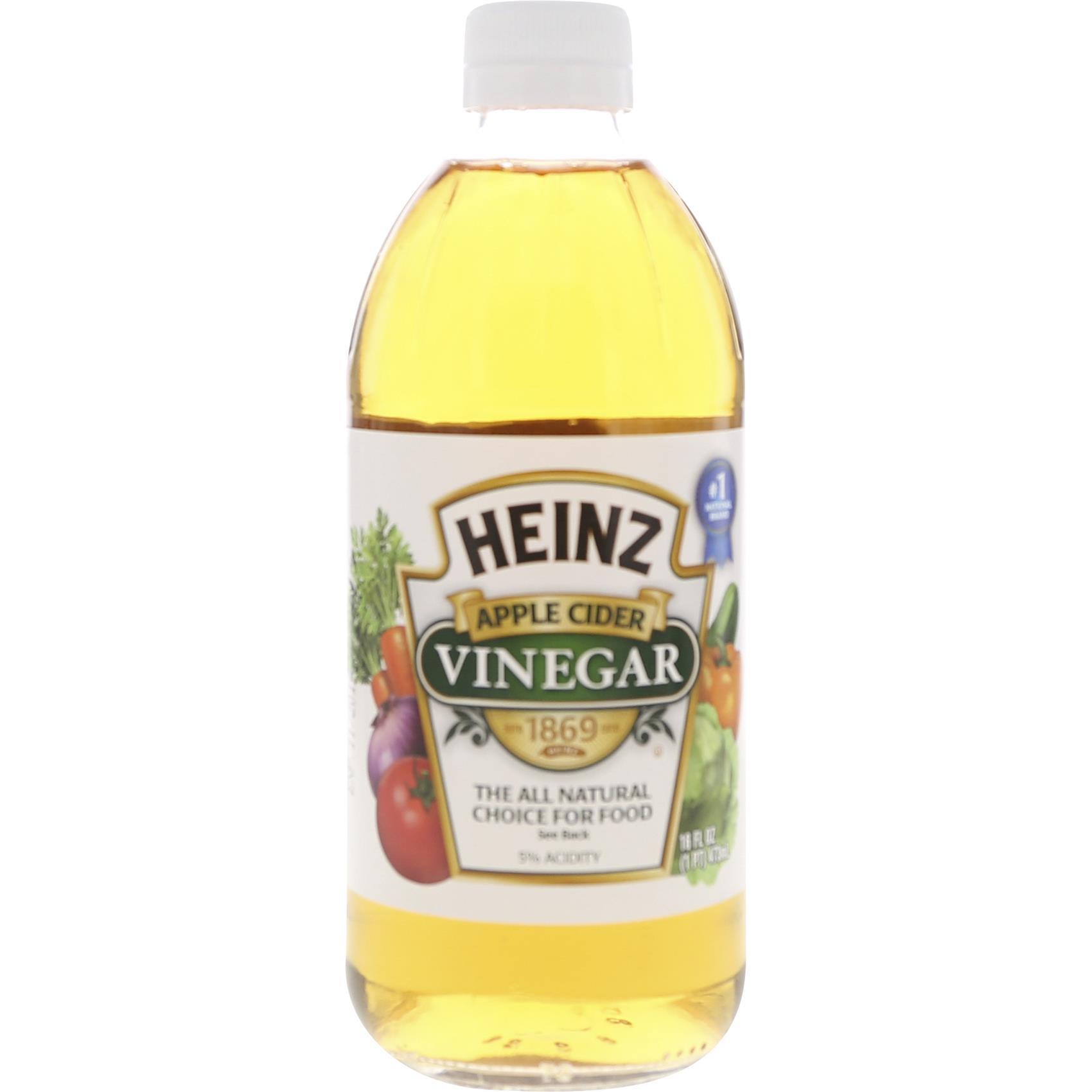 HEINZ CIDER VINEGAR 453GR
