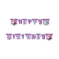 Disney Frozen Northern Lights Letter Happy Birthday Banner
