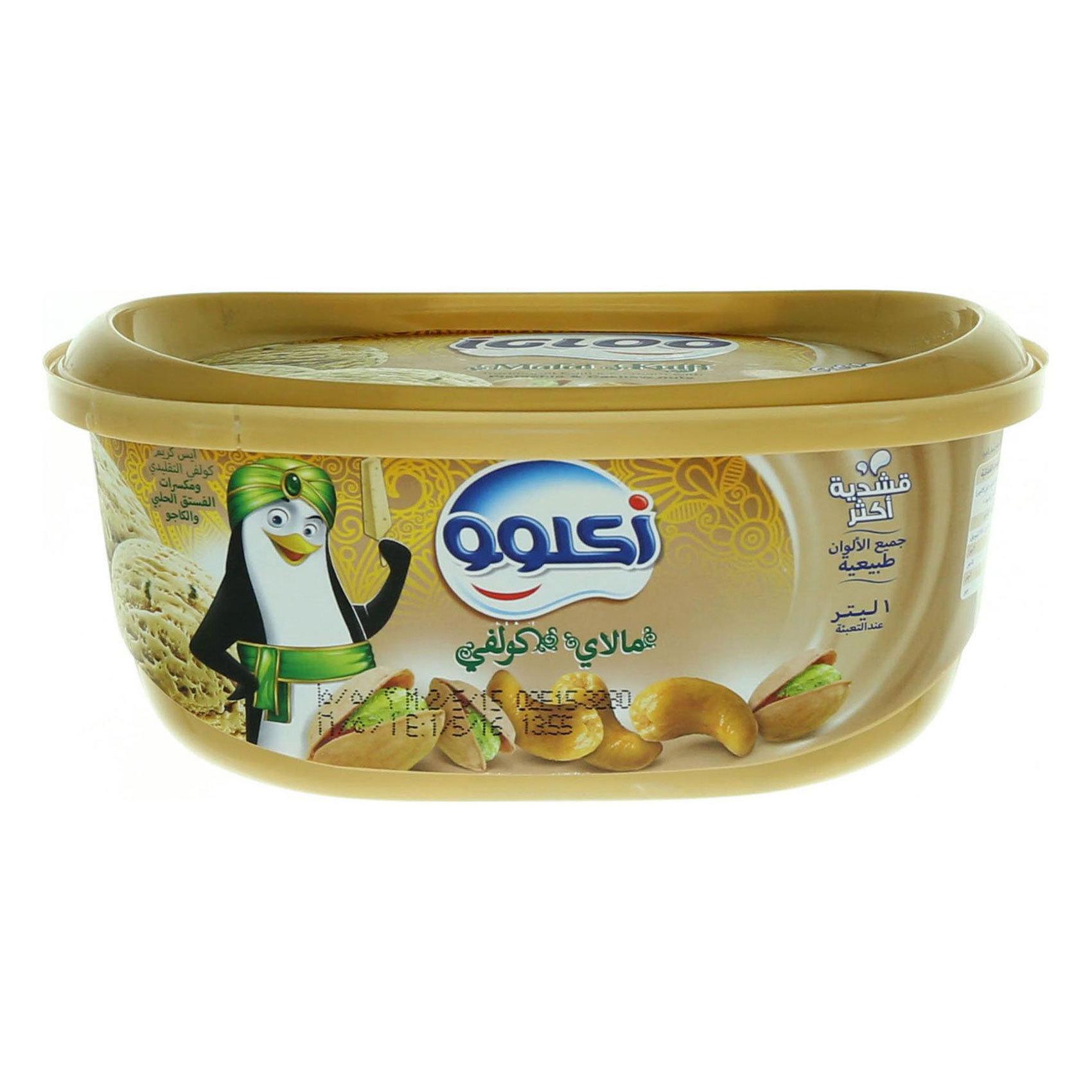 IGLOO ICE CREAM MALAI KULFI 1L