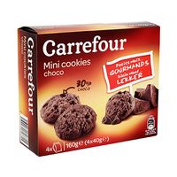 Carrefour All Chocolate Mini Cookies