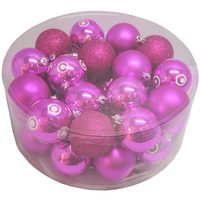 Balls Set 32 Pcs 6Cm Pink