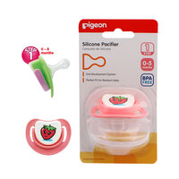 Pigeon Silicon Pacifier Step-1 (Strawberry)