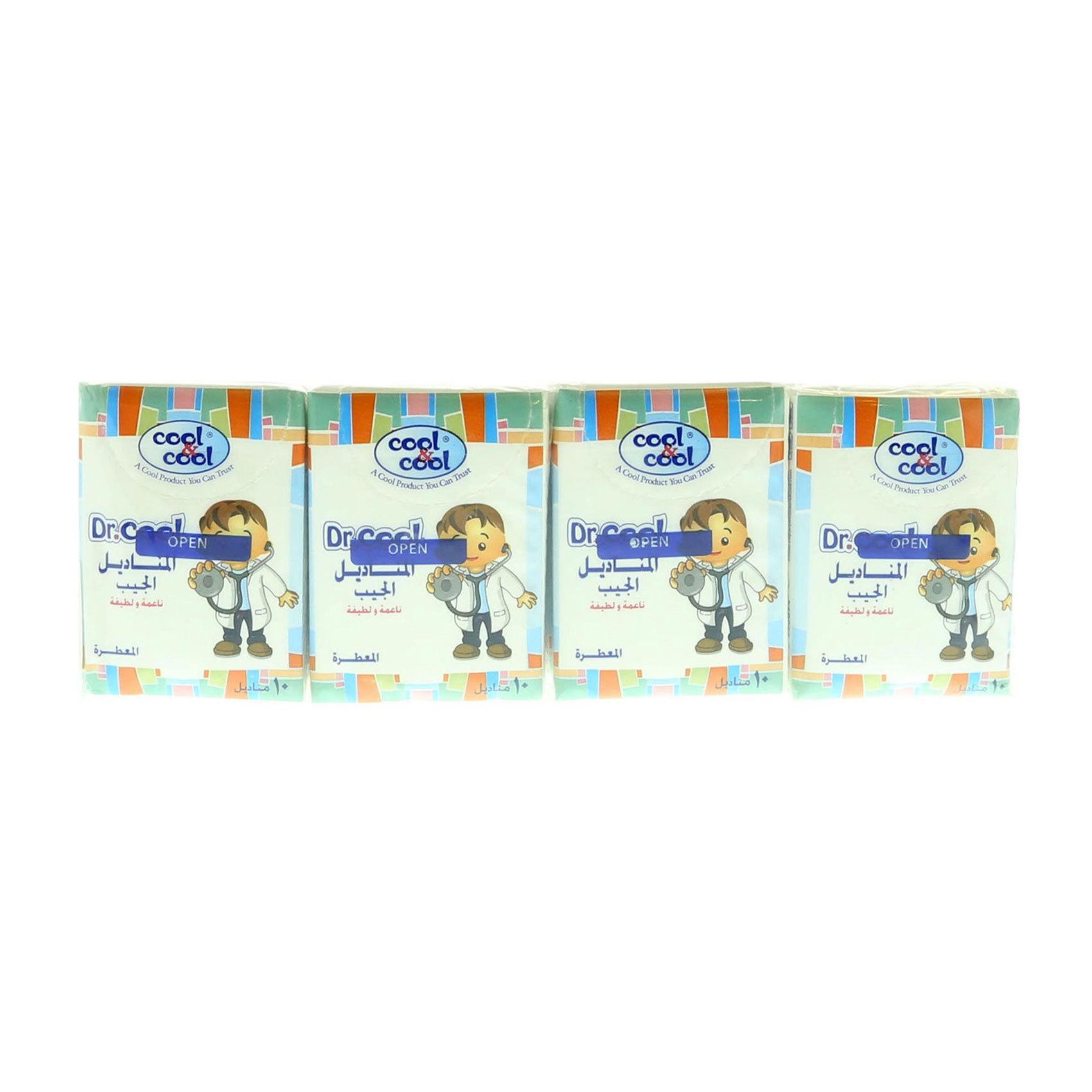COOL&COOL DR.COOL MINI TISSUE 12'S