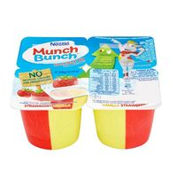 Nestle Munch Bunch Double Up Strawberry Vanilla 85gx4