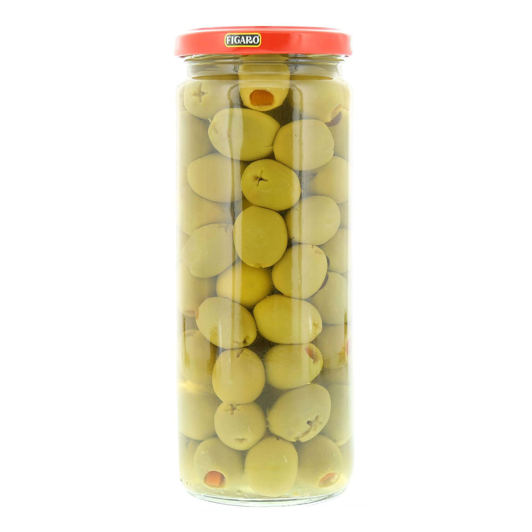 FIGARO STUFFED OLIVES WITH PI 450GR