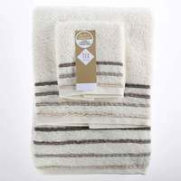 TEX Towel x3 Assorted Sizes Ecru