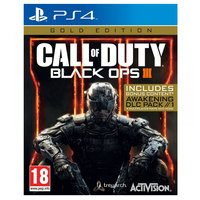 Sony PS4 Call of Duty Black Ops III Gold Edition