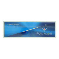 Parliament Aqua Blue 200 Cigarettes(Forbidden Under 18 Years Old)