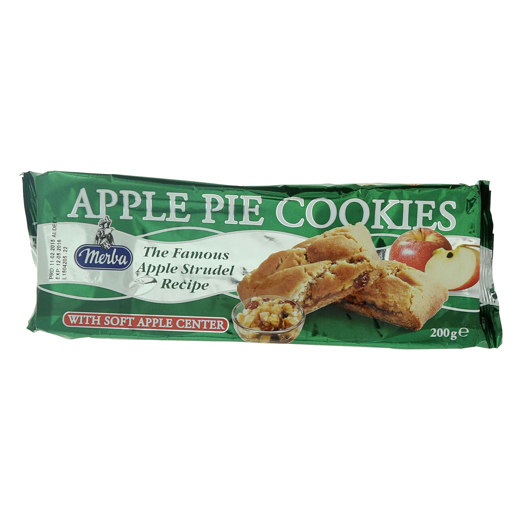 MERBA APPLE PIE COOKIES 200GR