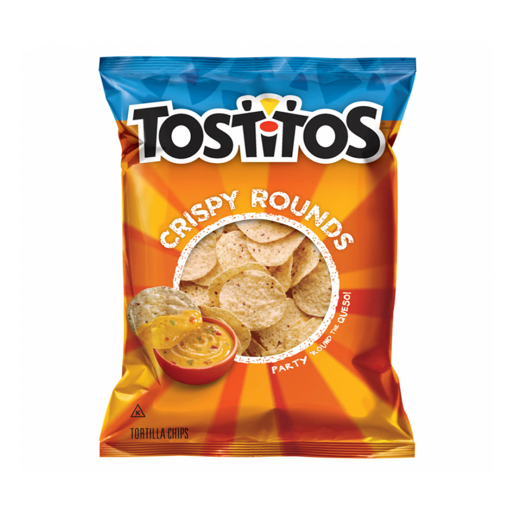 TOSTITOS ROUND 283.5GR
