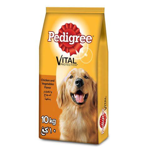 PEDIGREE®-Chicken-&-Vegetables-Dry-Dog-Food-Adult-10kg