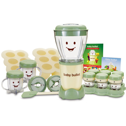 Baby-Bullet-Baby-Care-System-BBR-2212M-22pc-Set-White-&-Green-200W
