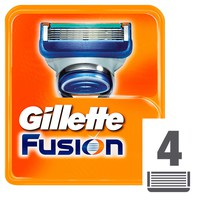 Gillette Fusion Men's Razor Blade Refills 4 Pieces