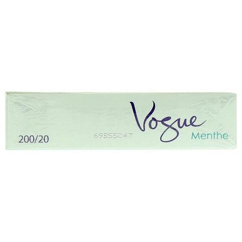 Vogue-Menthe-200/20-Cigarettes(Forbidden-Under-18-Years-Old)