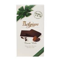 Belgian 72% Cocoa Nibs Chocolate 100 g