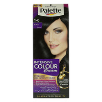 Schwarzkopf Palette 1-0 Black Intensive Colour Cream