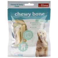 Les Filous Dog Snack Chewy Bone 100g