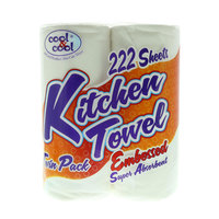 Cool & Cool Kitchen Towel 2 Rolls