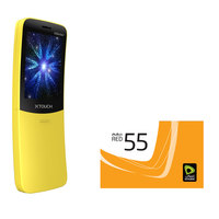 Xtouch X Slider Dual sim 32MB (Yellow / Black) + 50 Dhs Etisalat Prepaid Card  (Maximum 2 pcs / Customer)