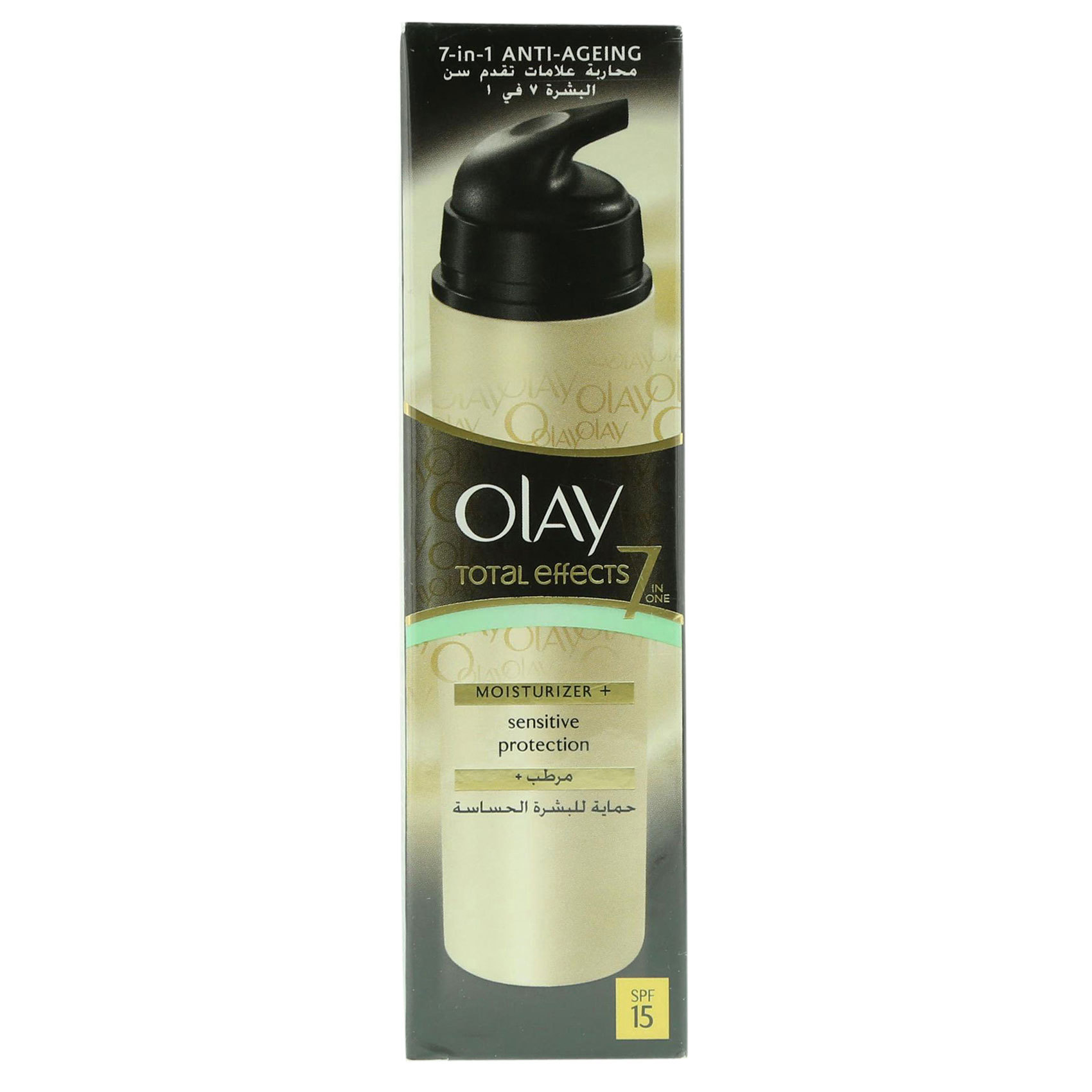 Buy Olay Total Effects 7 In 1 Moisturiser Amp Sensitive Protection One Day Cream Touch Of Foundation Spf 15 50gr Te Sens 50ml