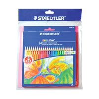 Staedtler 24 Color Pencil + Coloring Book