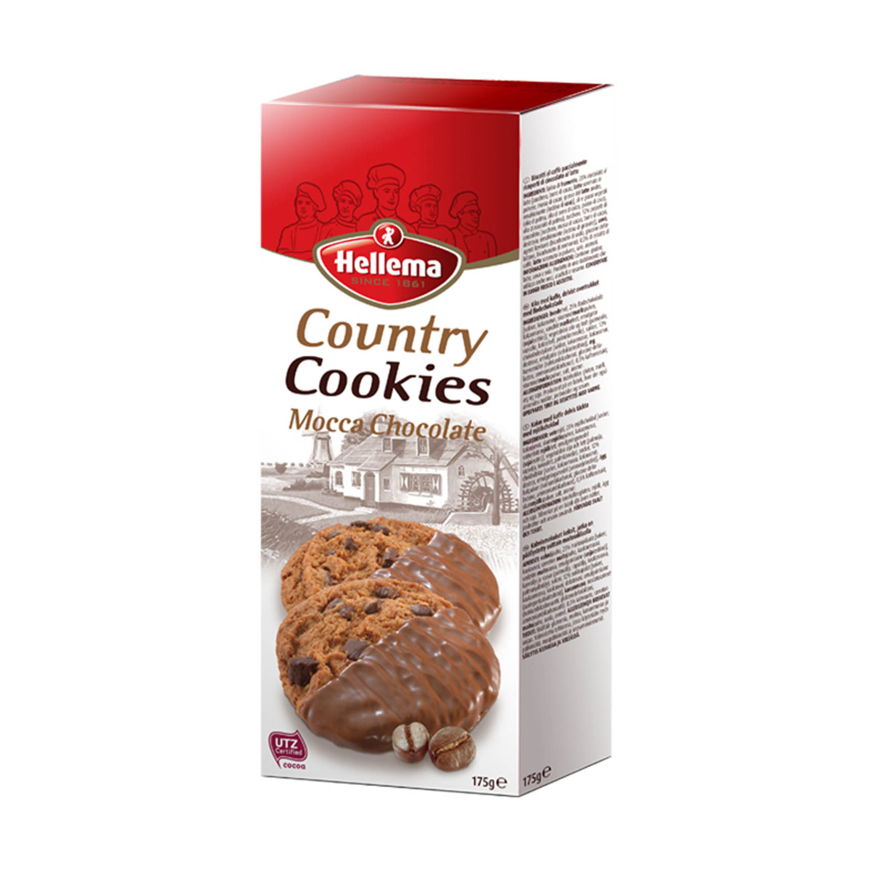 HELLEMA COUNTRY COOKIES-CH/MOC 175G