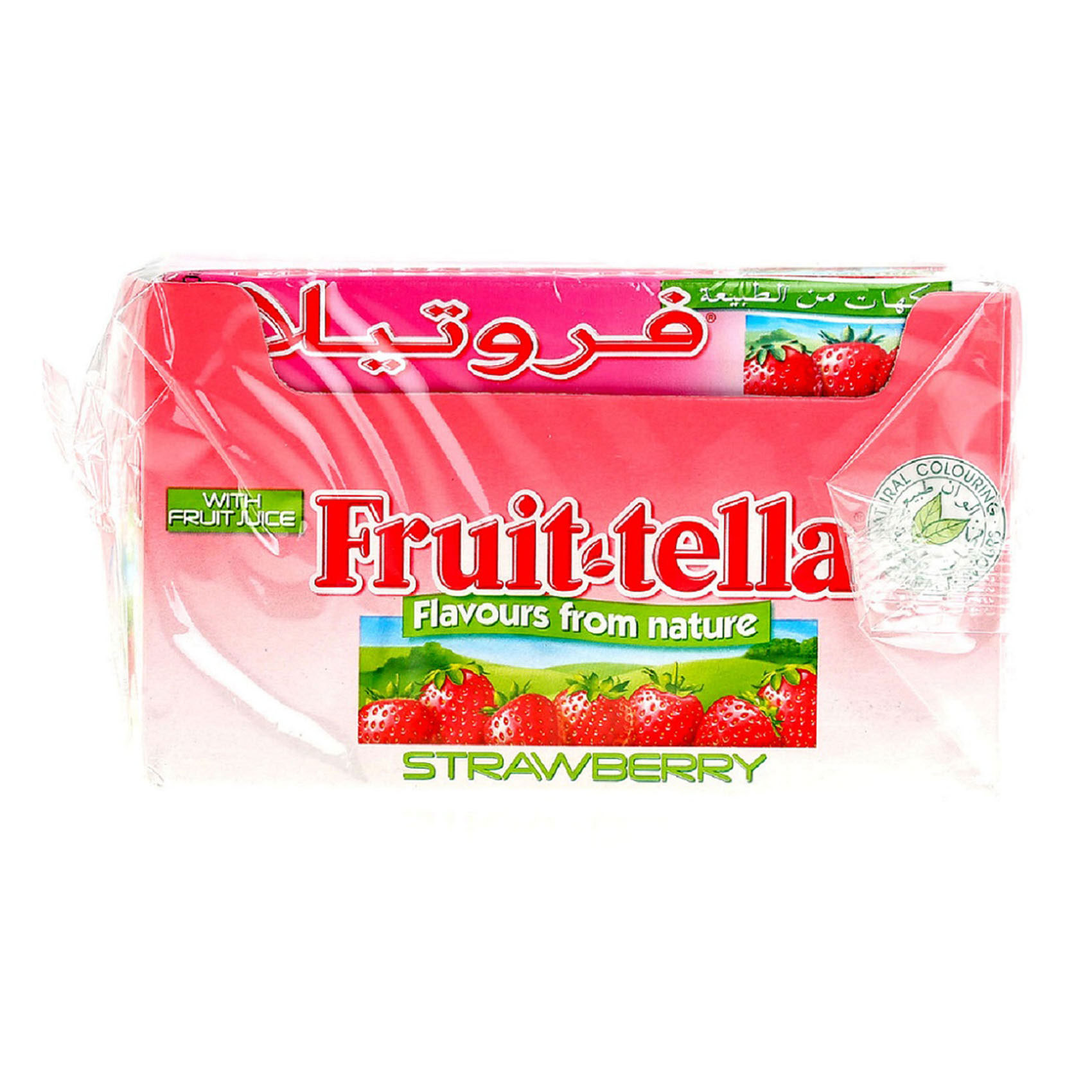 FRUITTELA CHEWS STRAWBERY 36GX20
