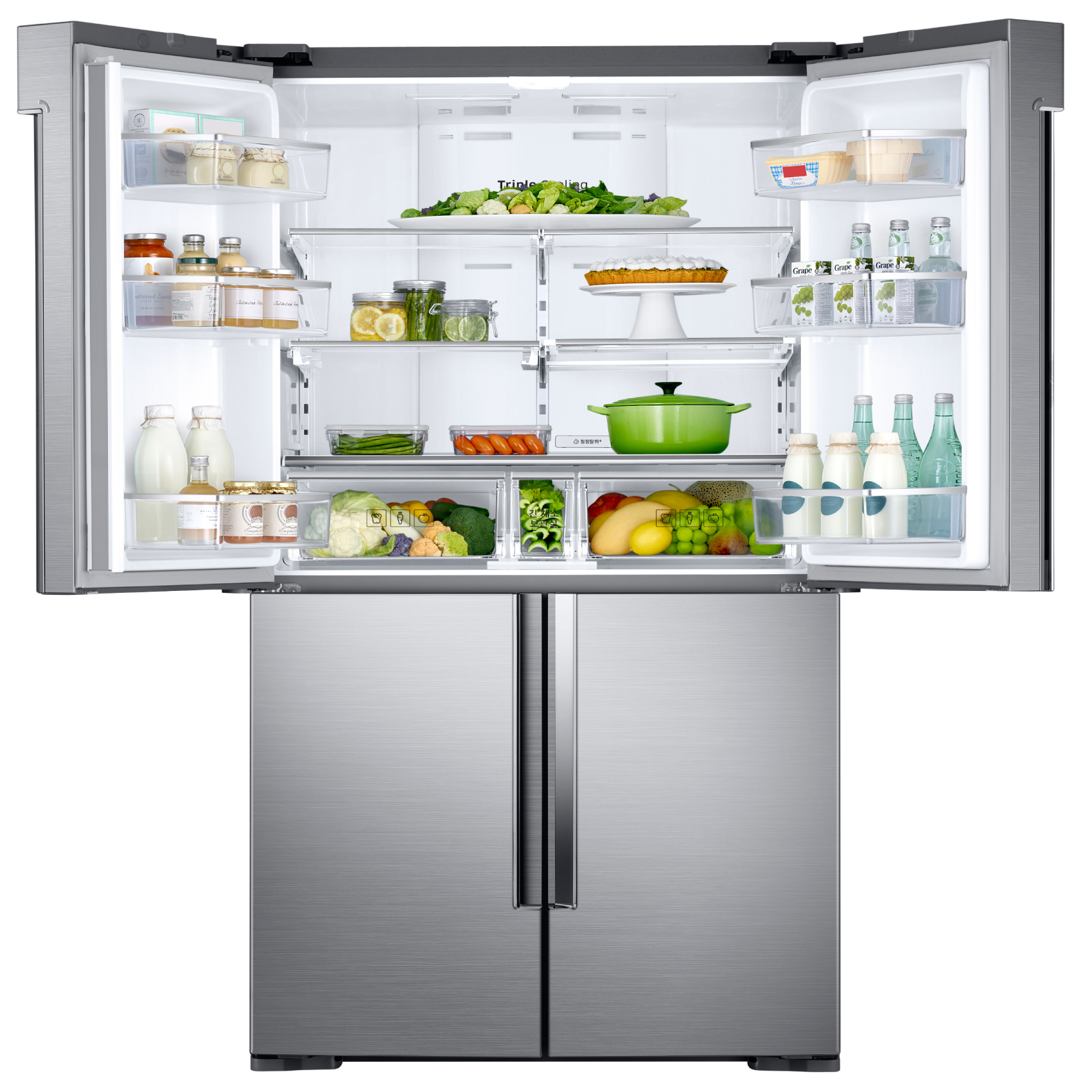 SAMSUNG FRIDGE SBS RF85K90N2S8 795L