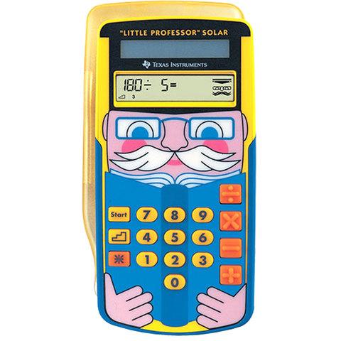 Texas-Basic-Calculator-Ti-Lttle-Professor-Solar