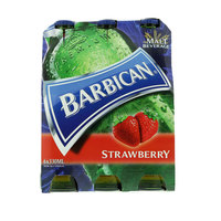 Barbican Strawberry Non Alcoholic Malt Beverage 330mlx6