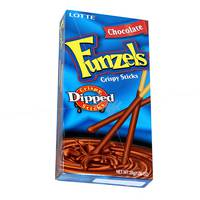 Lotte Chocolate Funzels Crispy Stick 34g